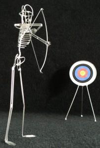 Archer+target
